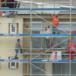 Arbeiten an der Hauswand: So arbeiten sie sicher ohne Gerüst